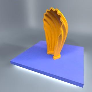 voet-licht-schelp